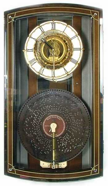 Baron Rhythm Music Box Clock
